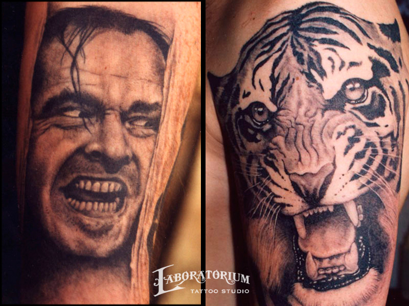 shining-and-tiger-tattoos